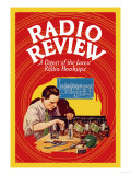 Radio Review: A Digest of the Latest Radio Hookups Poster