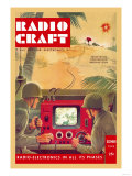 Radio Craft: Television-Controlled Machine Gun Posters