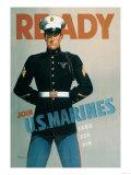 Ready: Join U.S. Marines Prints