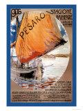 Pesaro Posters by Luciano Castaldini