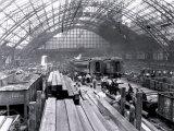 Fire at the Pennsylvania Railroad, Philadelphia, Pennsylvania Prints
