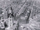 Sky View of City Hall, Philadelphia, Pennsylvania Photo