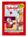 Radio Craft: Television News Service Posters