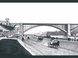 Washington Bridge and Speedway, New York City Prints by William Henry Jackson