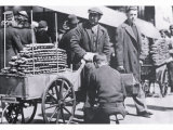 Early Philadelphia Pretzel Vendor Photo