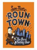 Roun' Town' Posters