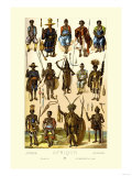 Afrique: Members of Various Tribes Prints