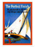 The Perfect Finish Posters by Roberto Franzoni