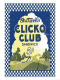 Clicko Club Sandwich Prints