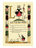 L for Little Bo-Peep Posters by Tony Sarge