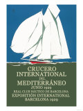 Crucero International del Mediterraneo Print