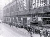 Line at Philadelphia's Reading Terminal Market Prints