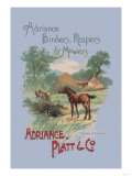 Adriance Binders, Reapers and Mowers Posters
