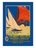 Grandes Regatas Internacionales Prints by Font Melchor