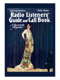 Radio Listeners&#39; Guide and Call Book, Spring Edition Prints
