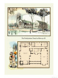 The Presbyterian Church of Berwyn, Illinois Prints by Geo E. Miller