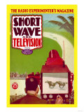 Short Wave and Television: Televised Horse Racing Prints