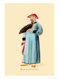 Mandarin in Summer Dress Print by George Henry Malon