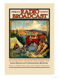 Radio Broadcast: June 1925 Prints by Remington Schuyler
