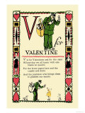 V for Valentine Posters by Tony Sarge