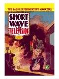 Short Wave and Television: Radio and Firefighting Prints