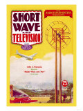 Short Wave and Television: Radio and Airplanes Posters
