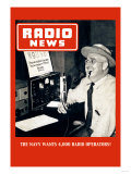 Radio News: The Navy Wants 4,000 Radio Operators! Art
