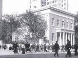 Strolling in Historic Philadelphia Posters