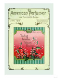The American Perfumer and Essential Oil Review: Joubet Trailing Arbutus Talcum Powder Posters