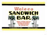 Waleco Sandwich Bar Posters