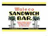 Waleco Sandwich Bar Prints