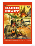 Radio-Craft: Ground Troops Posters by Alex Schomburg