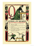 Q for Queen of Hearts Posters by Tony Sarge