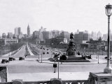 View of Philadelphia from Art Museum Steps Prints