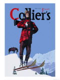 Collier's: January 13, 1940 Prints by Donald Mcleod