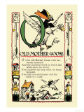 O for Old Mother Goose Poster by Tony Sarge