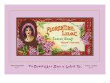 Florentine Lilac Toilet Soap Posters
