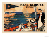 Real Club de Barcelona Posters by H.m. Lawrence