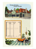 Group of Stores: French Design Prints by Geo E. Miller