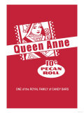 Queen Anne Pecan Roll Prints