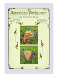 The American Pefumer and Essential Oil Review: Recreo Violet Talcum Powder Poster