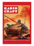 Radio-Craft: Tank Photo by Alex Schomburg