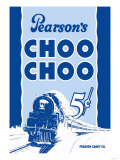 Pearson&#39;s Choo Choo Prints