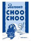 Pearson's Choo Choo Prints