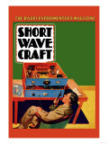 Short Wave Craft: How to Build a Simple Phone Transmitter Posters