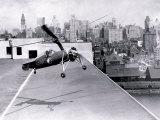 Gyrocopter, Philadelphia, Pennsylvania Print
