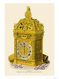 Clock, Presented by Henry VII to Anne Boleyn Posters by H. Shaw