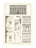 Palazzo Giraud at Rome Prints by J. Buhlmann