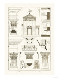 Tower of the Winds and Stoa of Hadrian Prints by J. Buhlmann