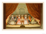 School for Scandal: Cast on Stage Prints by Lucius Rossi